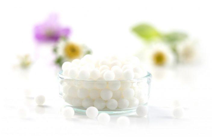 Imagen de gránulos de homeopatía