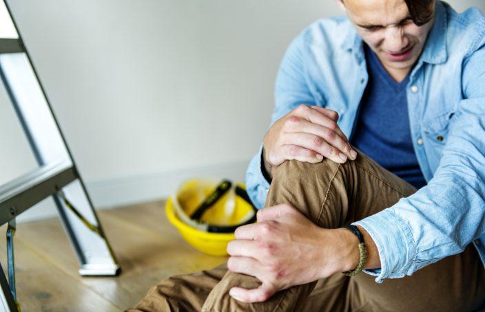 Imagen de una lesión de fractura por estrés