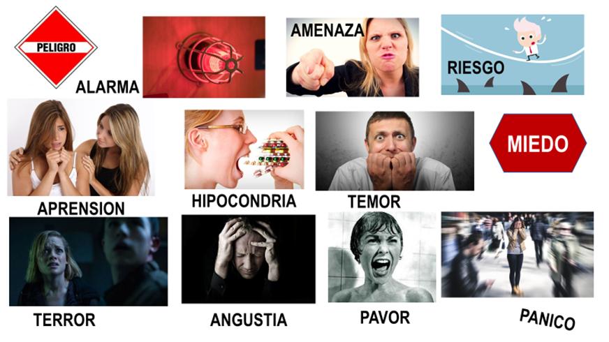 Las diferentes caras del miedo