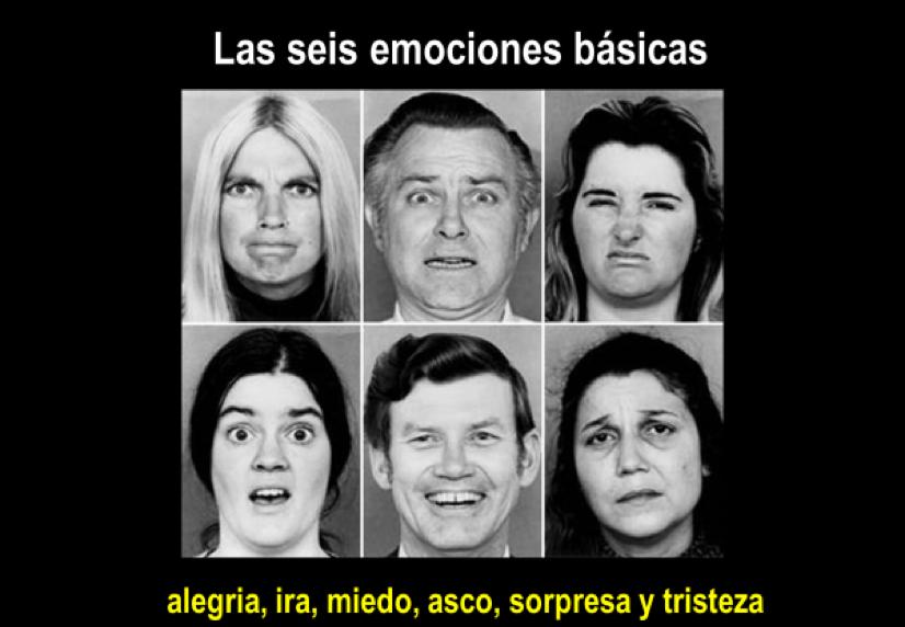 Las 6 emociones básicas