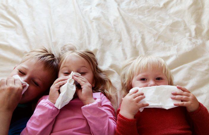 La vuelta de los virus respiratorios infantiles